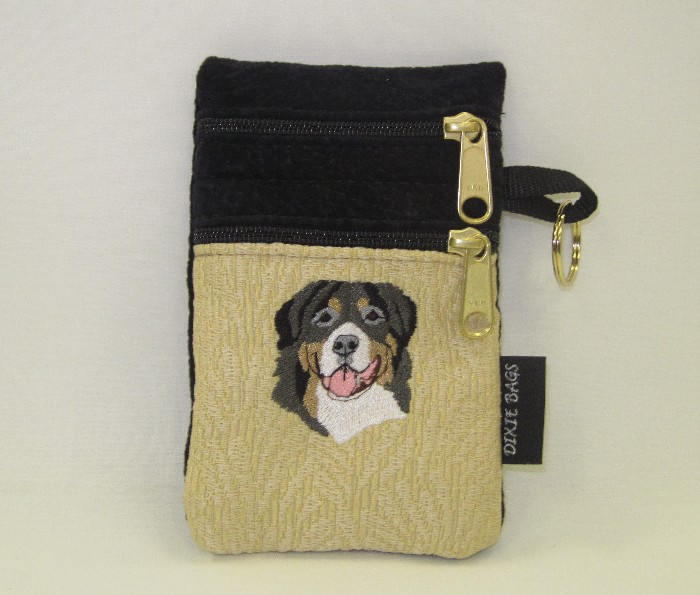 Bernese Mtn Dog 2 Compartment Cell Phone Case