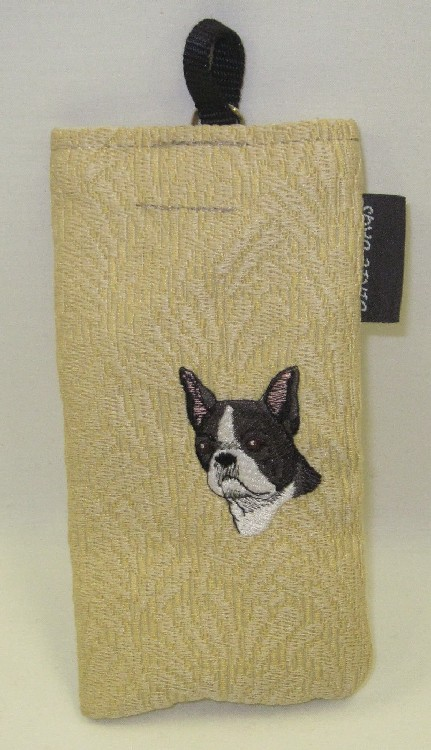 Boston Terrier Eyeglas Case
