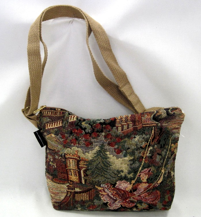 Lady on Swing Medium Handbag