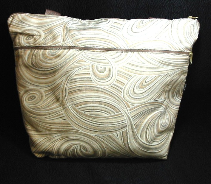 Tan Swirl Small Travel