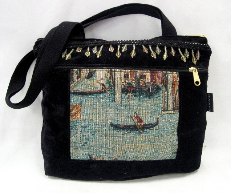 Venice Beaded Medium Handbag